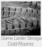 game larder cold rooms