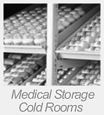 medical storage cold rooms
